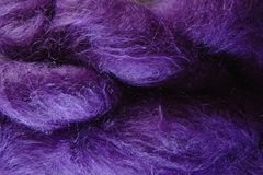 Hydrangea,Purple,Mohair,Yarn,Fingering,Weight,Mohair Yarn, Fingering Weight Yarn, Waldorf Doll Hair, Hydrangea Purple, Hand Dyed, eweandmeyarns.com