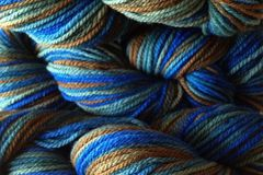 Blue,Grass,Hand,Dyed,Merino,Wool,Yarn,Worsted,Weight,Hand Dyed Merino Wool Yarn Worsted Weight Blue Green Brown