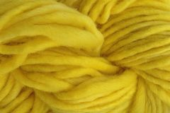 Flower,Yellow,Hand,Dyed,Wool,Pencil,Roving,Hand Dyed Merino Wool Yarn Pencil Roving Bright Yellow