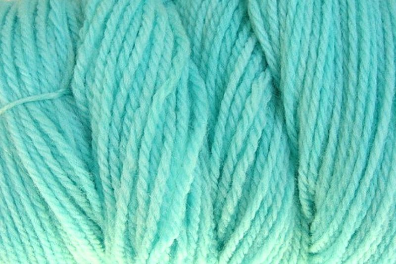 Ocean Blue Hand Dyed Merino Wool Yarn Worsted Weight - product image