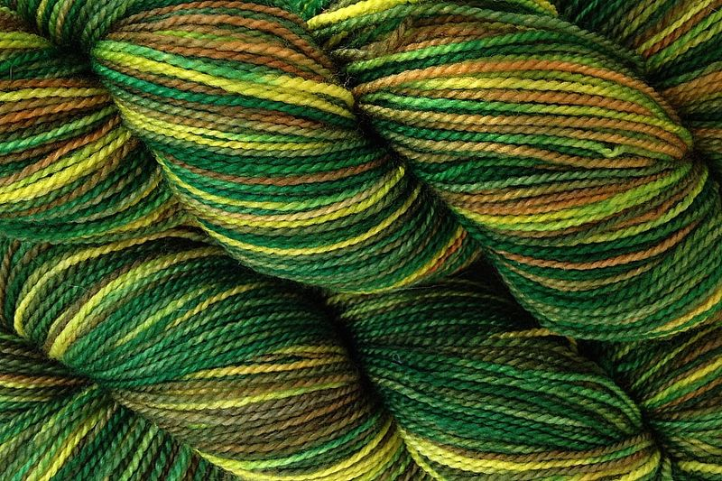 Rain Forest Hand Dyed Fingering Weight - product image