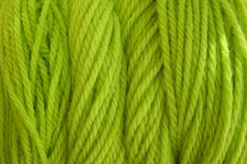 Rain Green Hand Dyed Merino Wool Yarn Worsted Weight - product image