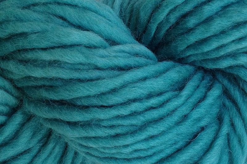Cactus Green Hand Dyed Wool Pencil Roving - product image