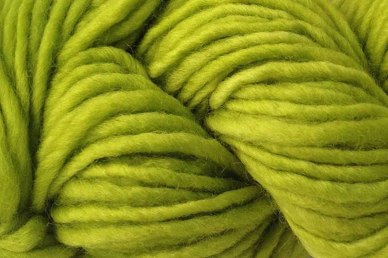Rain Green Hand Dyed Wool Pencil Roving - product image