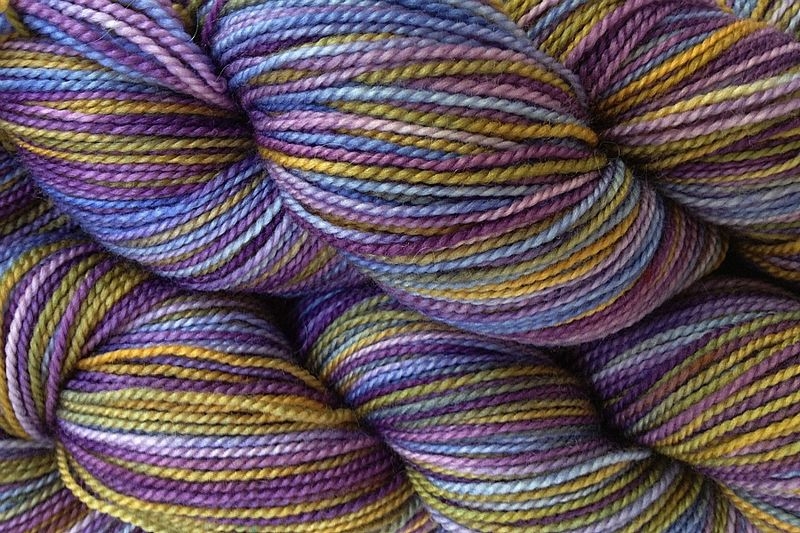 Violet Park Hand Dyed Fingering Weight - product image