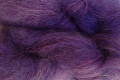 Violet,Purple,Mohair,Yarn,Fingering,Weight,Hand Dyed Mohair Yarn Fingering Weight Purple eweandmeyarns.com