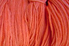 Little,Orange,Hand,Dyed,Merino,Wool,Yarn,DK,/,Sport,Weight,Hand Dyed Merino Wool Yarn DK / Sport Orange