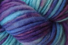Twilight,Sky,Hand,Dyed,Wool,Pencil,Roving,Bulky Yarn Hand Dyed Blue Aqua Purple