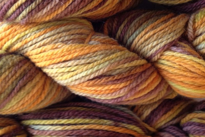 Fallen Acorn Hand Dyed Merino Wool Worsted Weight - product image