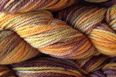 Fallen,Acorn,Hand,Dyed,Merino,Wool,Worsted,Weight,Hand Dyed Merino Wool Yarn Worsted Weight Yellow Brown Green