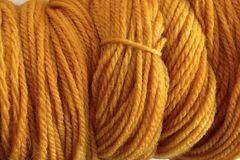 Acorn,Gold,Hand,Dyed,Merino,Wool,Yarn,DK,/,Sport,Weight,Hand Dyed Merino Wool Yarn DK / Sport Yellow Gold