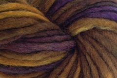 Mocha,Bean,Hand,Dyed,Wool,Pencil,Roving,Bulky Yarn Hand Dyed Brown Purple Pencil Roving