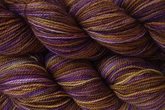Mocha,Bean,Hand,Dyed,Fingering,Weight,Merino Wool Hand Dyed Yarn, Brown Purple, Fingering Weight Yarn,  Super Wash Yarn, eweandmeyarns.com