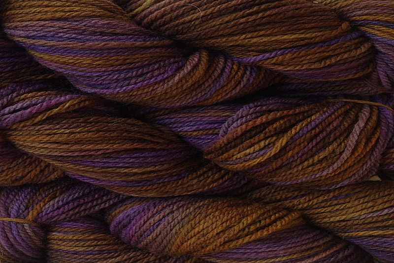 Mocha Bean Hand Dyed Merino Wool Worsted Weight - product image