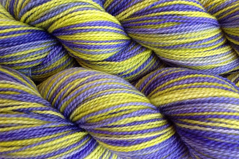 Early Crocus Hand Dyed Fingering Weight - product image