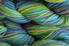 Mermaid,Cove,Hand,Dyed,Merino,Wool,Worsted,Weight,Hand Dyed Merino Wool Yarn Worsted Weight Aqua Purple Green