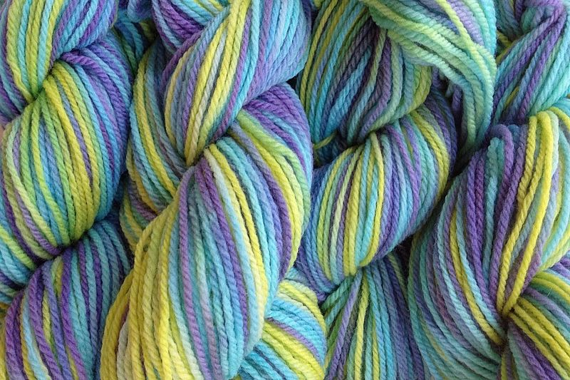 Mermaid Cove Hand Dyed Merino Wool Yarn DK / Sport Wt - product image