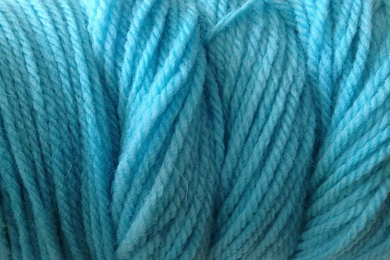 Aqua Cove Hand Dyed Merino Wool Yarn Worsted Wt - product image