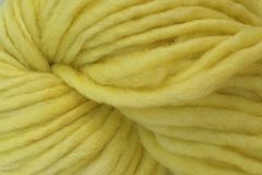 Tango,Yellow,Hand,Dyed,Wool,Pencil,Roving,Hand Dyed Merino Wool Yarn Pencil Roving Pale Yellow Bulky Weight