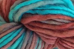 Frost,Bite,Hand,Dyed,Wool,Pencil,Roving,Bulky Yarn Hand Dyed Aqua Blue Burgundy Plums