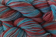 Frost,Bite,Hand,Dyed,Merino,Wool,Worsted,Weight,Hand Dyed, Merino Wool Yarn, Worsted Weight, Aqua Blue, Burgundy, Plum