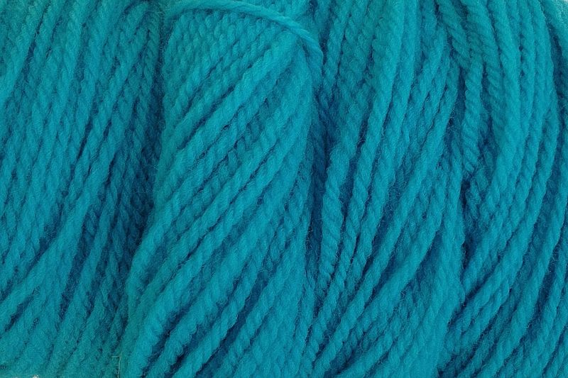 Frost Blue Hand Dyed Merino Wool Yarn Worsted Wt - product image