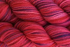 Hard,Candy,Hand,Dyed,Fingering,Weight,Merino Wool Yarn, Hand Dyed Yarn, Purple Red Pink, Fingering Weight Yarn, Super Wash Sock Yarn, eweandmeyarns