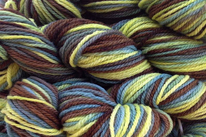 Avocado Stone Hand Dyed Merino Wool Worsted Weight - product image