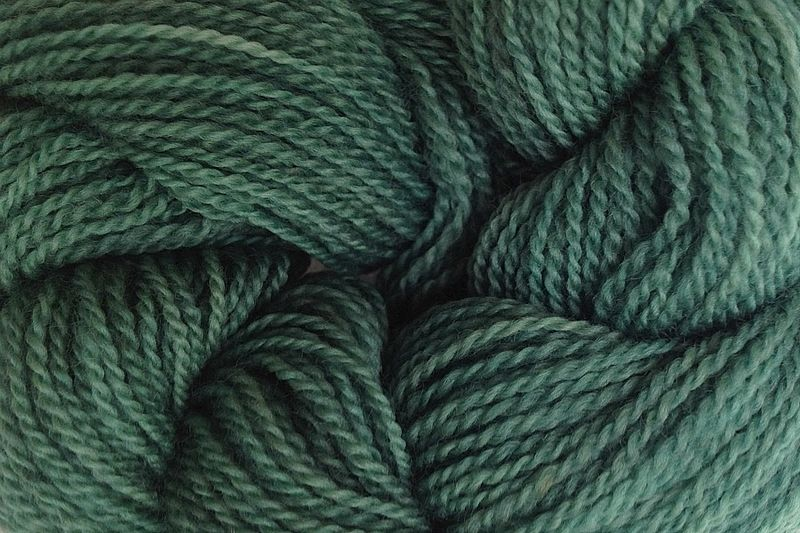 Avocado Green Hand Dyed Merino Wool Yarn Lace Weight - product image