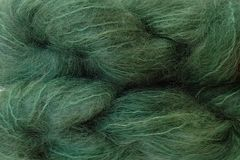 Avocado,Green,Mohair,Yarn,Fingering,Weight,Hand Dyed Mohair Yarn Fingering Weight Green