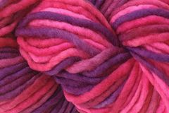 Hard,Candy,Hand,Dyed,Wool,Pencil,Roving,Bulky Yarn Hand Dyed Red Pink Purple