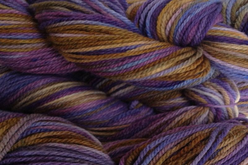 Violet Park Hand Dyed Merino Wool Worsted Weight - product image