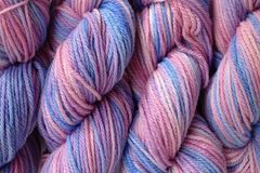 Winter,Wind,Hand,Dyed,Merino,Wool,Yarn,DK,/,Sport,Wt,Hand Dyed Merino Wool Yarn DK / Sport Pink Purple Blue eweandmeyarns