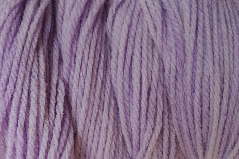 Purple Wind Hand Dyed Merino Wool Yarn Worsted Wt - product image