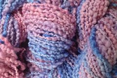 Winter,Wind,Hand,Dyed,Bumpy,Merino,Yarn,Bulky,Weight,40 yards 2.5 ounces Bumpy Textured Wool Yarn Pink Purple Blue