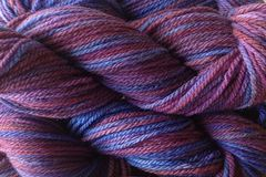 Pie,Season,Hand,Dyed,Merino,Wool,Worsted,Weight,Hand Dyed Merino Wool Yarn Worsted Weight Pie Season Purple Blue eweandmeyarns