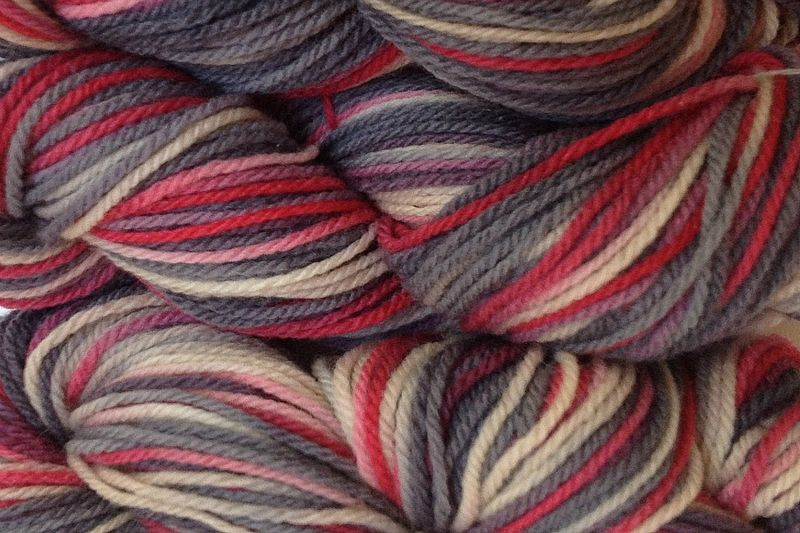 Paper Love Hand Dyed Merino Wool Worsted Weight - product image