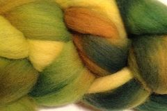 Dandelion,Daddy,Hand,Dyed,Wool,Roving,Wool Roving Hand Dyed Yellow Green