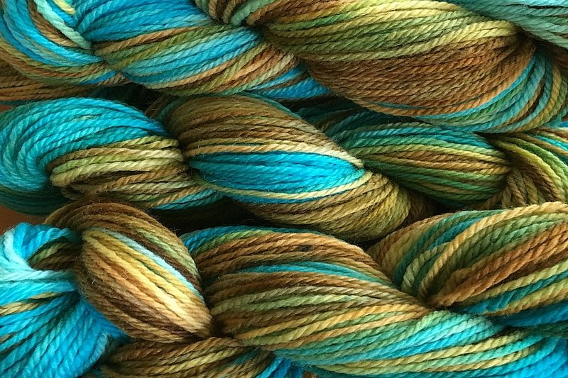 Clock Works Hand Dyed Merino Wool Worsted Weight - product image
