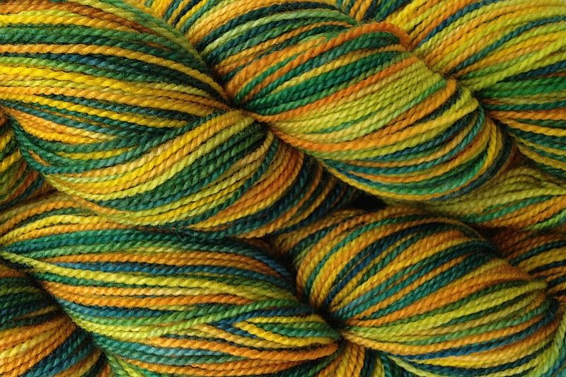 Dandelion Daddy Hand Dyed Fingering Weight - product image