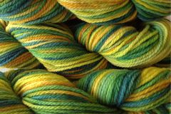 Dandelion,Daddy,Hand,Dyed,Merino,Wool,Worsted,Weight,Hand Dyed, Merino Wool Yarn, Worsted Weight Yellow Green eweandmeyarns.com