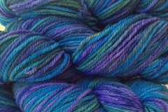 Sea,Turtle,Hand,Dyed,Merino,Wool,Yarn,Worsted,Weight,Hand Dyed, Merino Wool Yarn, Worsted Weight, Purple Blue Green, Knitting Yarn, Hilo, Variegated Yarn, eweandmeyarns.com
