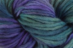 Sea,Turtle,Hand,Dyed,Wool,Single,Ply,Bulky,#5 Bulky Single Ply Yarn Hand Dyed Purple Blue Green eweandmeyarns.com