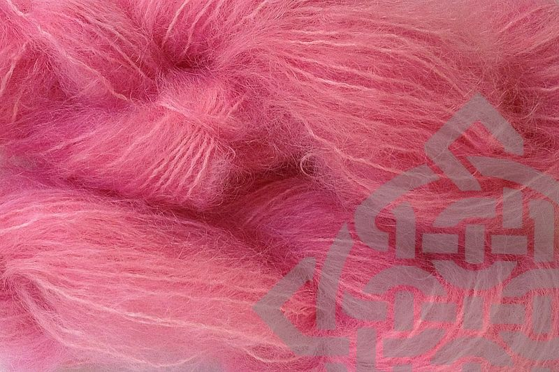 Sand Pink Mohair Yarn Fingering Weight - product images  of