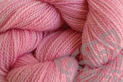 Sand Pink Hand Dyed Merino Wool Yarn Lace Weight - product images  of