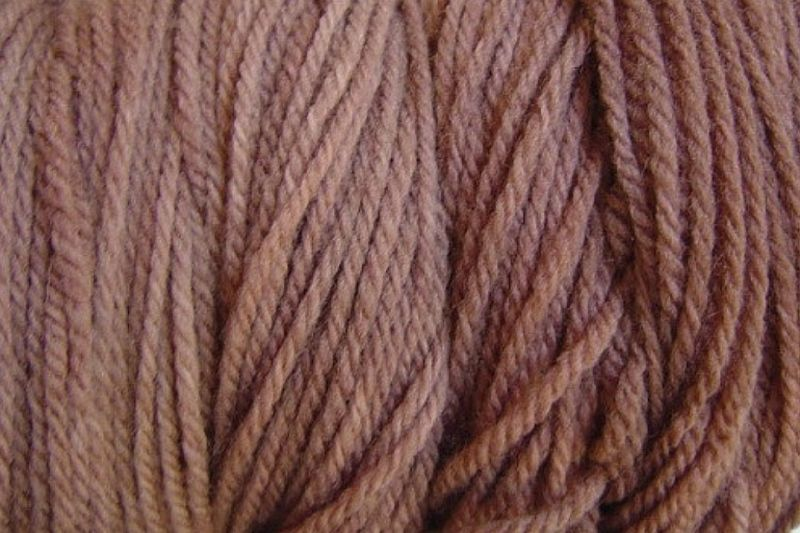 Root Brown Hand Dyed Merino Yarn Worsted Weight (74g) - product images  of