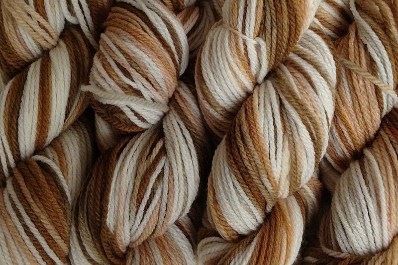 Rootbeer Float Hand Dyed Merino Yarn DK / Sport Weight  - product images  of
