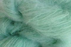 Glass Green 4oz (116g) Mohair Yarn Fingering Weight - product images  of