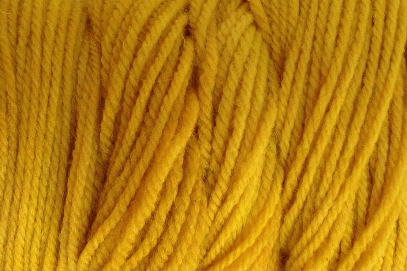 Cab Yellow Hand Dyed Merino Wool Yarn Worsted Wt - product images  of