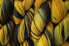 Taxi Cab Hand Dyed Merino Wool Yarn DK / Sport Wt - product images  of